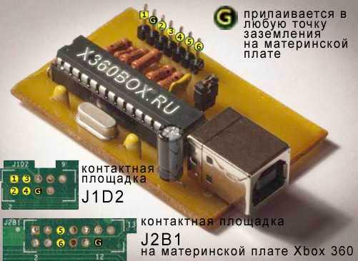 купить usb spi flasher xbox
